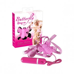 VIBRO METULJČEK Butterfly Strap-on