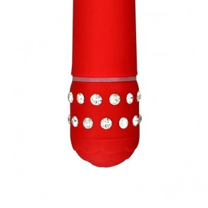 KLASIČNI VIBRATOR Diamond Red Superbe