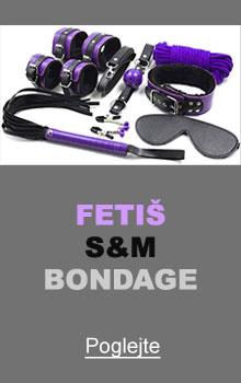 Fetiš, S&M, Bondage