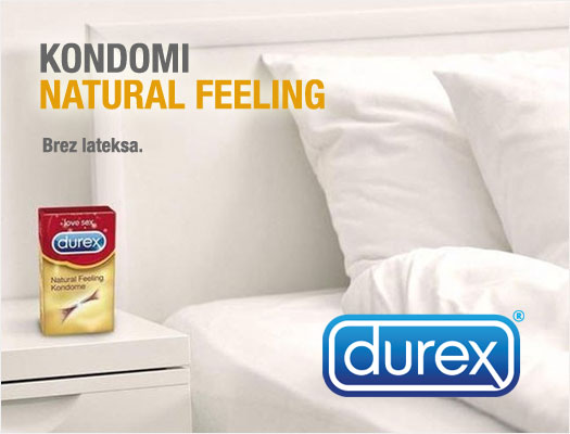 KONDOMI DUREX Natural Feeling 10 kosov